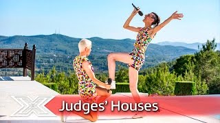 Ottavio and Bradley sweeten the deal with Christina cover| Judges' Houses | The X Factor 2016