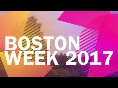Boston Week 2017