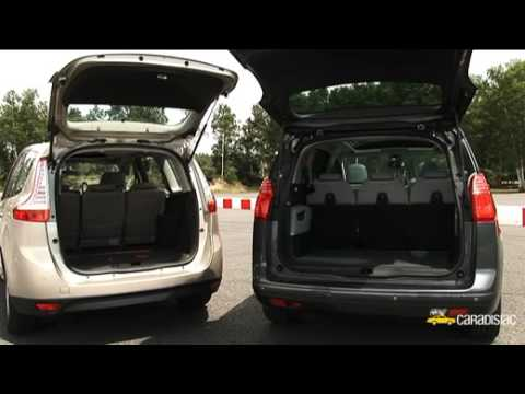 comparatif peugeot 5008 renault sc nic youtube. Black Bedroom Furniture Sets. Home Design Ideas