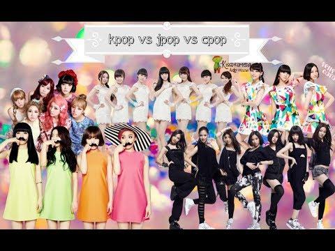 [Girl Groups] Kpop vs Jpop vs Cpop [Part 2]