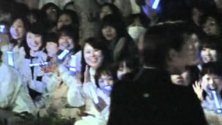 2011年4月24日東京宝塚劇場花組千秋楽、真飛聖さんの出待ちです。