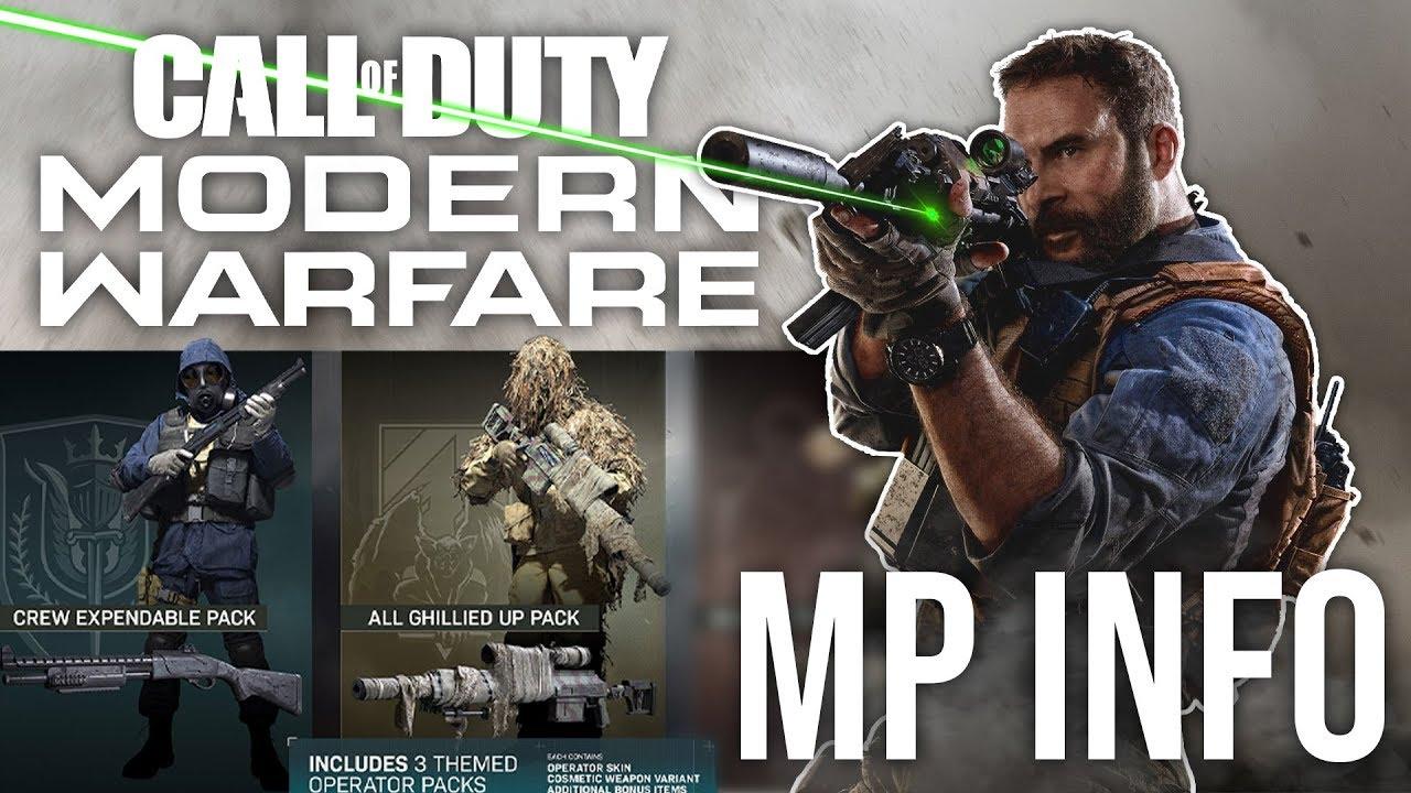Call of Duty: Modern Warfare Mehrspieler-Info + video