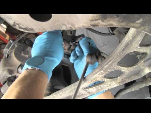 How To use a steering knuckle spreader when replacing shocks / struts on a BMW or MINI