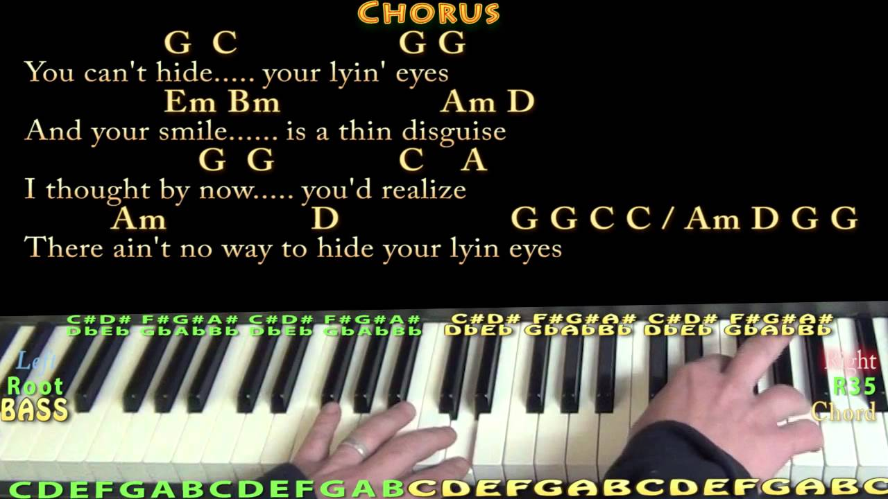 Lyin eyes eagles piano cover lesson with chordslyrics youtube lyin eyes eagles piano cover lesson with chordslyrics hexwebz Choice Image