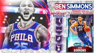*NEW* DIAMOND BEN SIMMONS GAMEPLAY! HE IS GAME BREAKING! NBA 2k20 MyTEAM