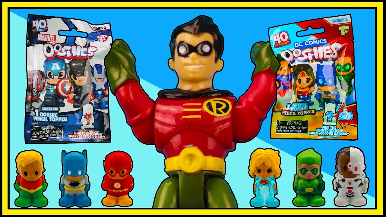 Treasure Hunt 9 Robin Finds Ooshies Dc Series 2 Action