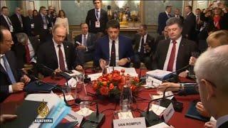 Porošenko i Putin razgovarali o Ukrajini