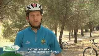 Camping La Sierrecilla. Mountain Bike en la sierra. Humilladero, Málaga