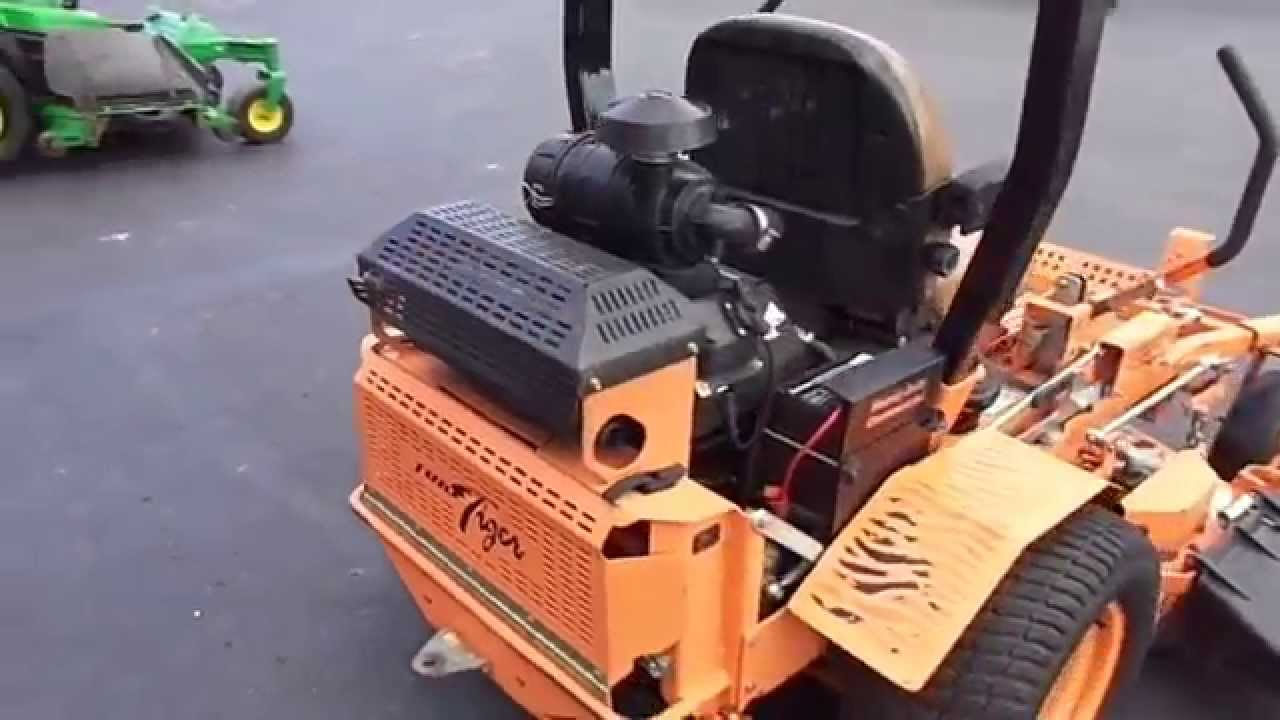 52 Quot Scag Turf Tiger 27 Hp Kohler Engine Zero Turn Lawn