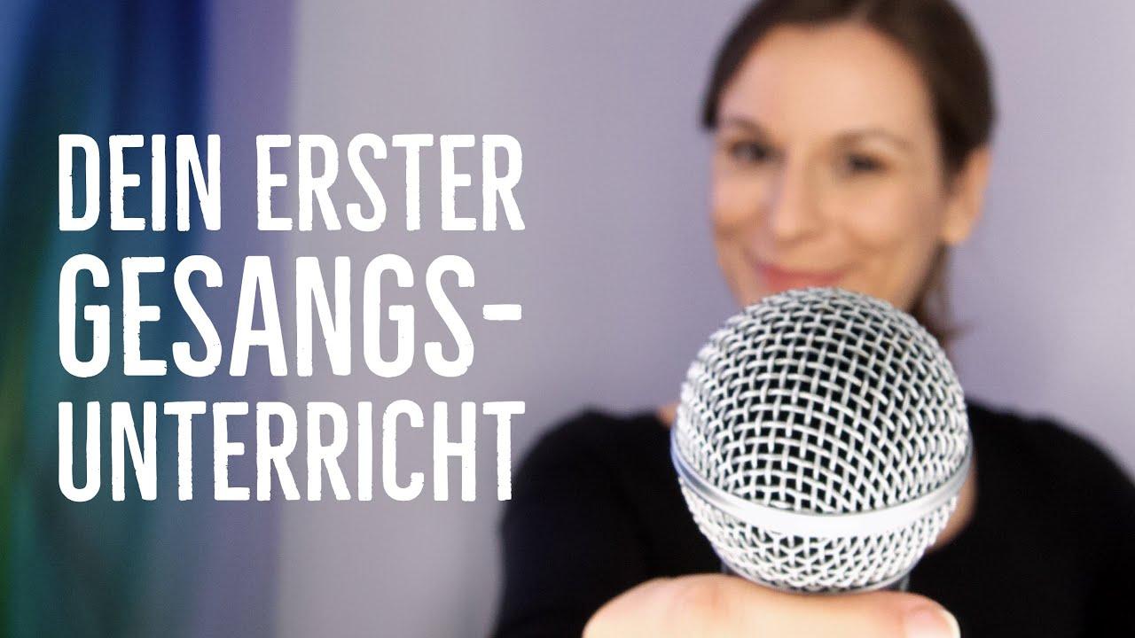 Sing mit! Der 1. Gesangsunterricht zum Mitmachen - singen lernen für Anfänger