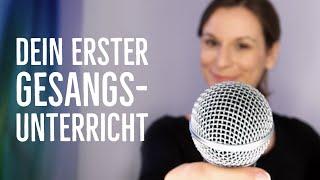 Sing mit! Der 1. Gesangsunterricht zum Mitmachen - singen lernen für Anfänger | singdu.de