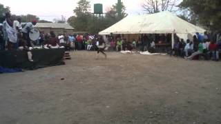 Exciting Shangaan dance