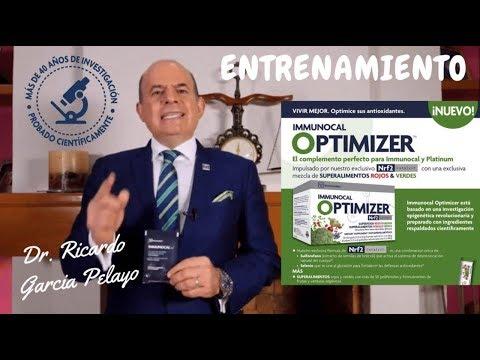 "Dr. Ricardo García Pelayo ""Immunocal Optimizer"""