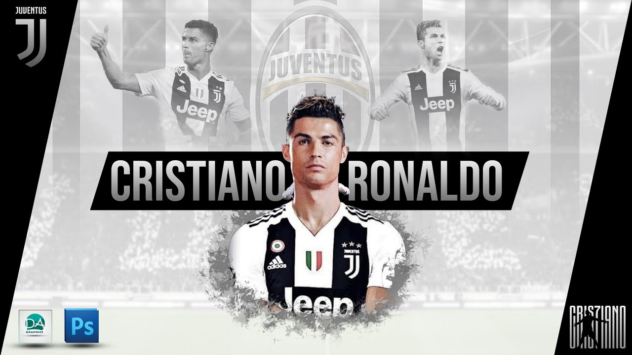 Cristiano Ronaldo Juventus Wallpaper 2018 2019 In Photoshop