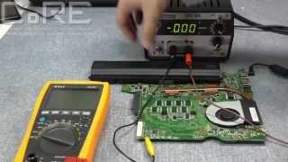 Ремонт ноутбука: не заряжается батарея. Разбираемся без схемы.(В этом видеоуроке мы покажем ремонт ноутбука ASUS с типичным дефектом - не заряжается аккумулятор, но не типич..., 2015-09-21T14:56:59.000Z)