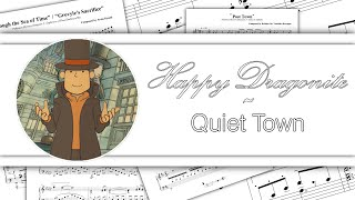 Professor Layton - A Quiet Town (Piano)