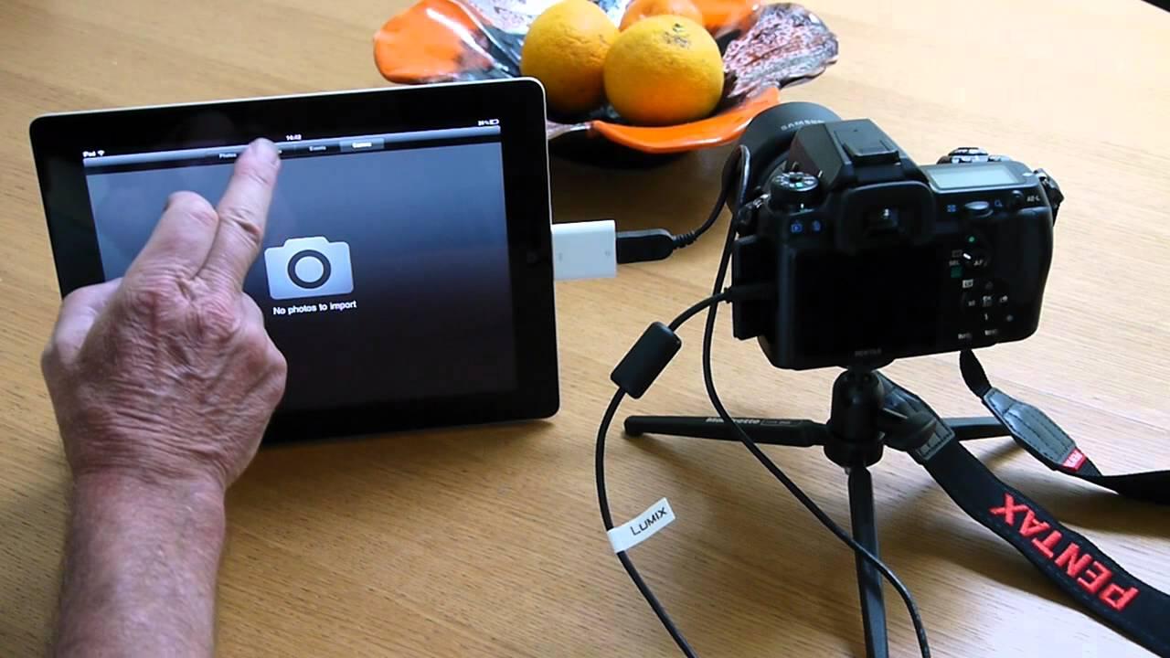 iPad 2 and Pentax K5