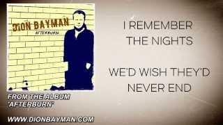 Dion Bayman - I Remember (Lyric Video)