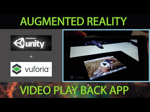 Augmented Reality by Unity3D + Vuforia