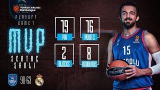 Playoff 1.Maç / Anadolu Efes - Real Madrid / Sertaç Şanlı