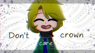Don't care crown - gift for Vitu Mixed