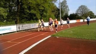 3000m Bahnlauf in Trittau 2014