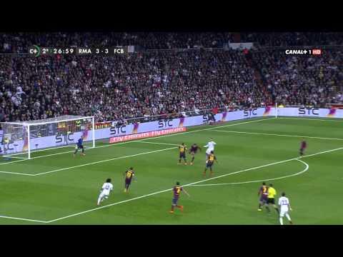 La Liga - Real Madrid vs Barcelona 3 - 4 / 2do Tiempo [23-03-2014]