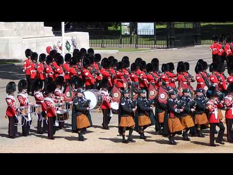 Trooping the Colour-The Colonels Review 10th June 2017.