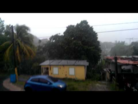 Tropical storm bertha in Puerto Rico