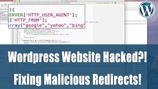 How to Fix Wordpress Redirect Hack