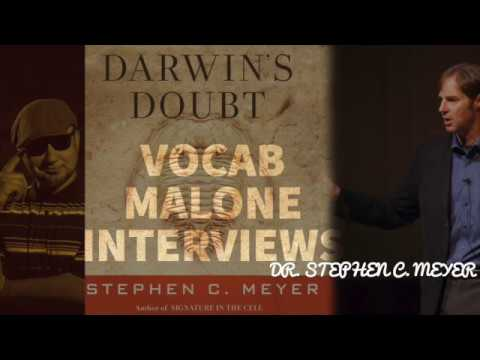 What was DARWIN'S DOUBT ? Dr. Stephen Meyer on CAMBRIAN EXPLOSION [audio] w VOCAB MALONE