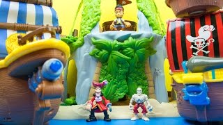 Video Fisher-Price Disney's Jake and The Never Land Pirates Jake's Magical Tiki Hideout Playset download MP3, 3GP, MP4, WEBM, AVI, FLV November 2017