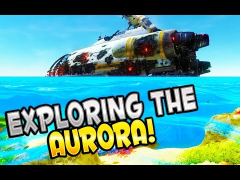 Prawn suit location! - Subnautica Gameplay Part 4 - EXPLORING THE AURORA!