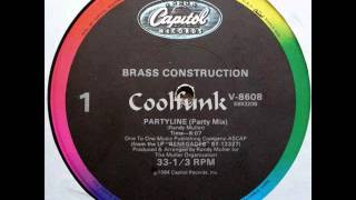 Watch Brass Construction Partyline video
