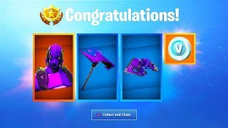 *NEW* Dark Vertex Exclusive Skin! - Fortnite XBOX ONE S SKIN BUNDLE!
