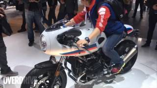 First look_ BMW 2017 K1600GT, RnineT Racer and R nineT Pure showcased at Intermot 2016