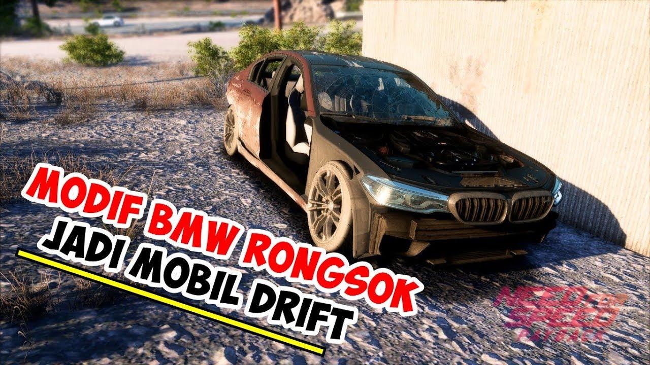 MODIF BMW RONGSOK JADI MOBIL DRIFT | NEED FOR SPEED ...
