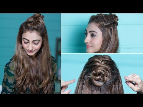 How To Make A Braided Top Knot | Quick & Easy Hairstyles