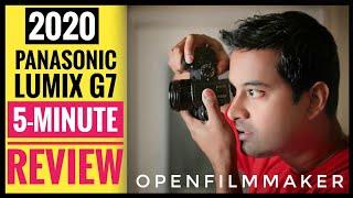 2020 Panasonic Lumix G7 Review