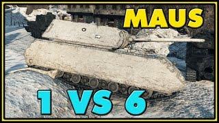 World of Tanks | Maus - 7 Kills - 9.8K Damage