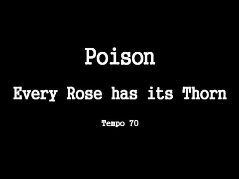 Poison - Every Rose Has its Thorn - Video-Chords