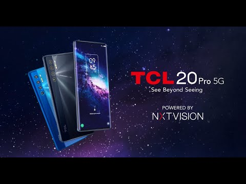 Introducing the all-new TCL 20 Pro 5G