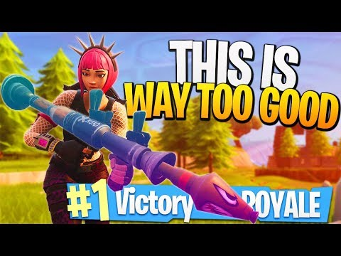 This is WAY TOO GOOD! - Fortnite DOUBLE Legendary RPGs! - PS4 Fortnite!