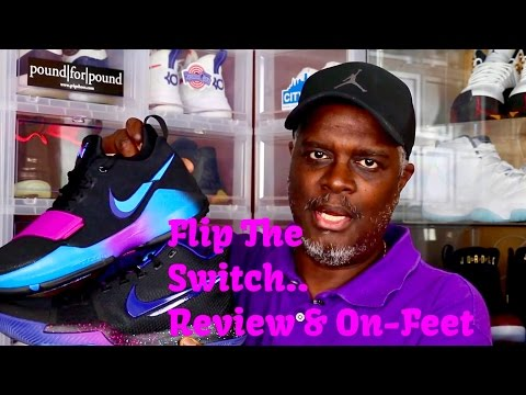 """PG1 & Kyrie 3 """"Flip The Switch"""" Review & On-Feet"""