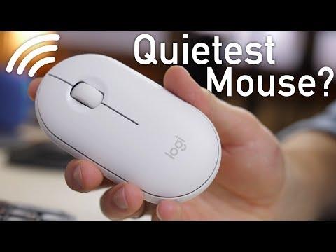 Logitech Pebble (M350) Review - Quietest Mouse on the Market?