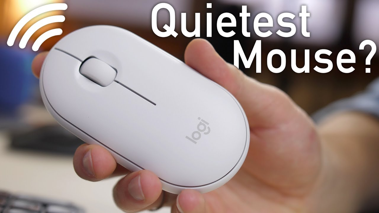 Logitech Pebble (M350) Review - Quietest Mouse on the Market?