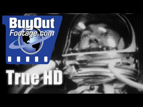 NASA - Project Mercury Space Program 1961 HD Stock Footage
