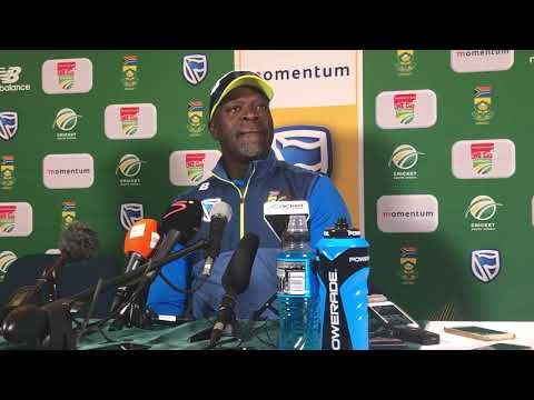 Ottis Gibson press conference after the Proteas' 3-2 series win
