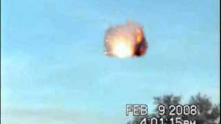 UFO Explodes Massive Explosion Sightings 2010 Caught on Tape Real Best