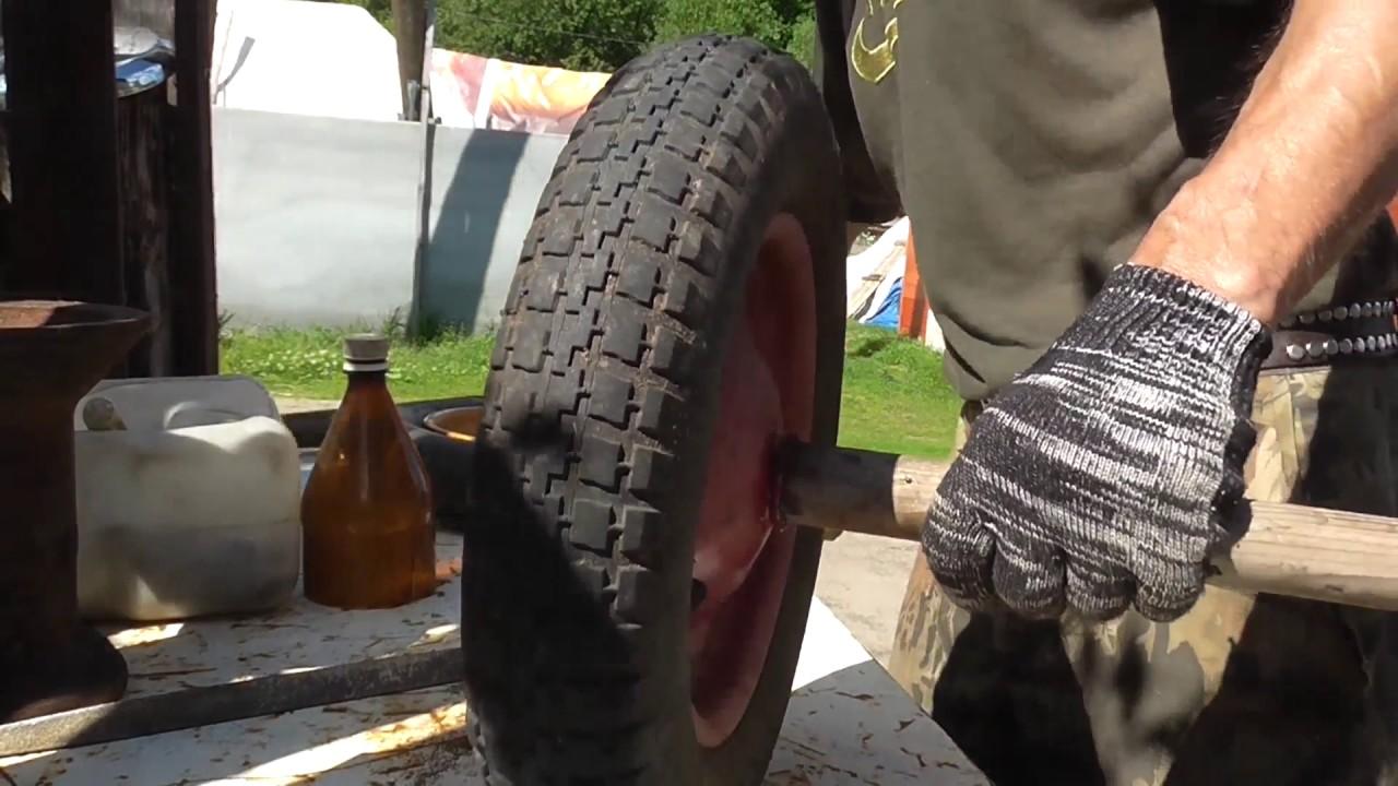 Улучшение колеса от тележки (improving wheel) - YouTube